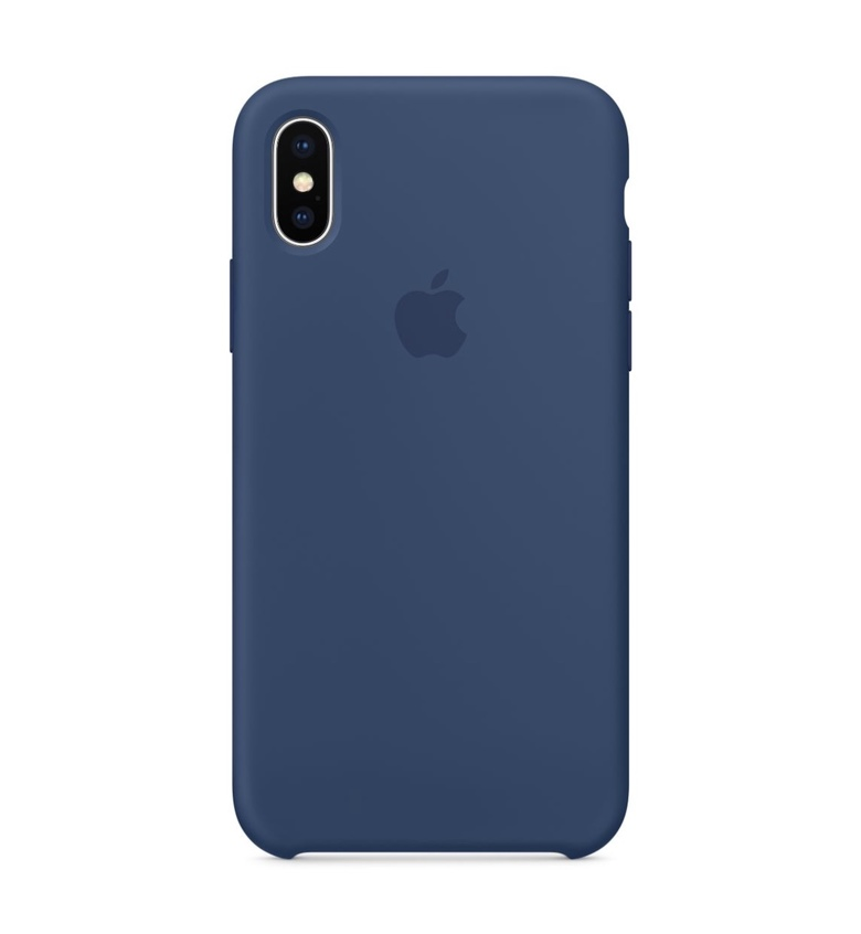 iPhone 8 Plus Silicone Case - Blue Cobalt