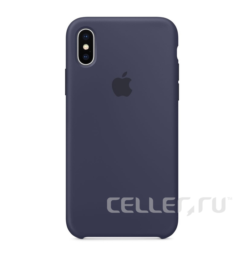 iPhone 6 Plus Silicone Case - Midnight Blue