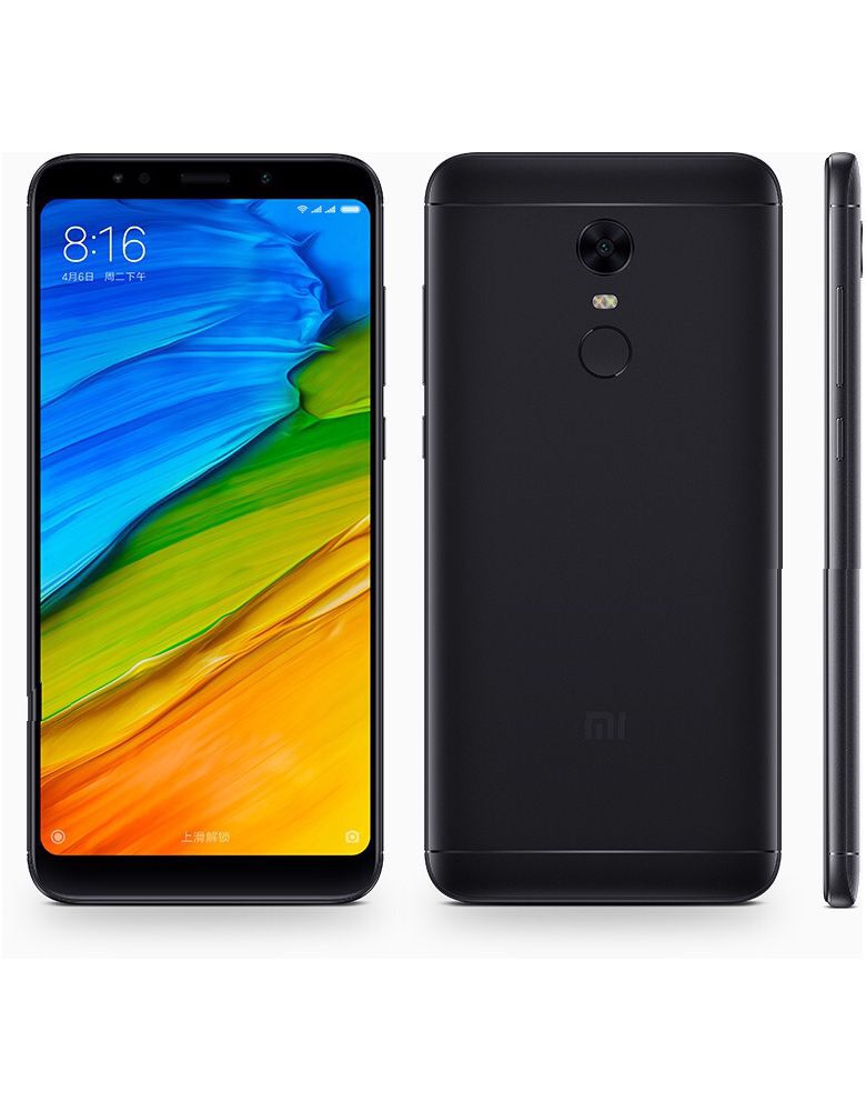 Xiaomi Redmi 5 Plus 64GB Black(Чёрный)