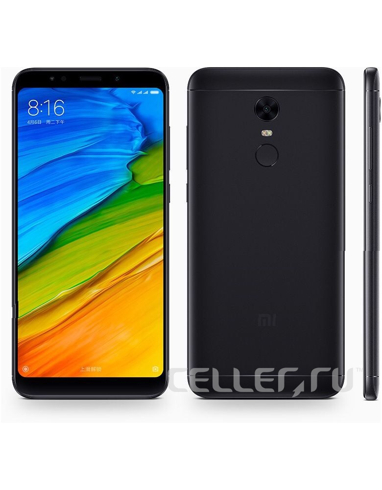Xiaomi Redmi 5 Plus 32GB Black(Чёрный)
