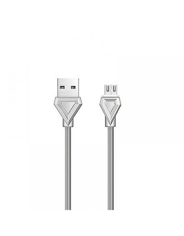 USB кабель micro HOCO (Original ) U25 1 м Цвет: Серый