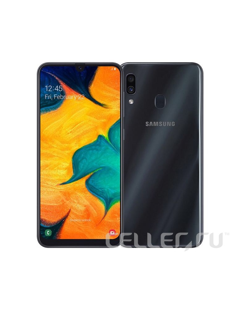 Samsung Galaxy A30 SM-A305F 32GB Black