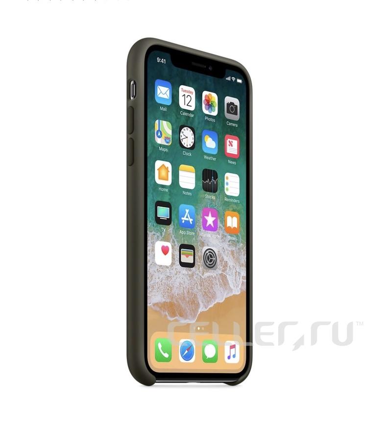 iPhone 6 Plus Silicone Case - Dark Olive
