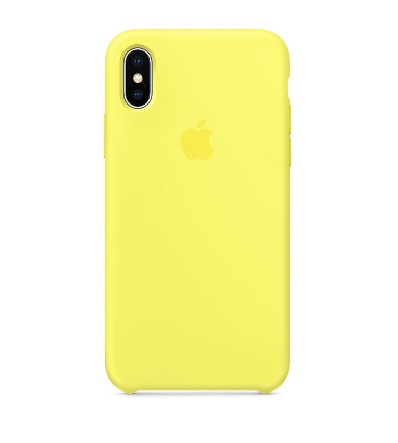 iPhone 7 Silicone Case - Flash