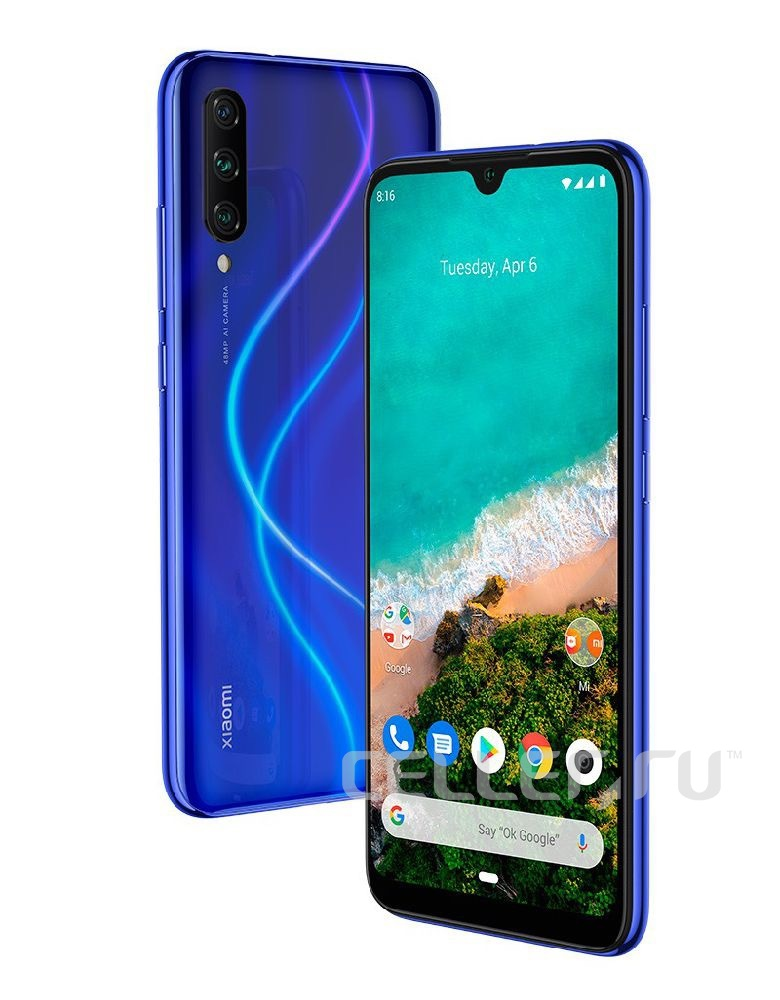 Xiaomi Mi A3 4/64GB Android One Blue