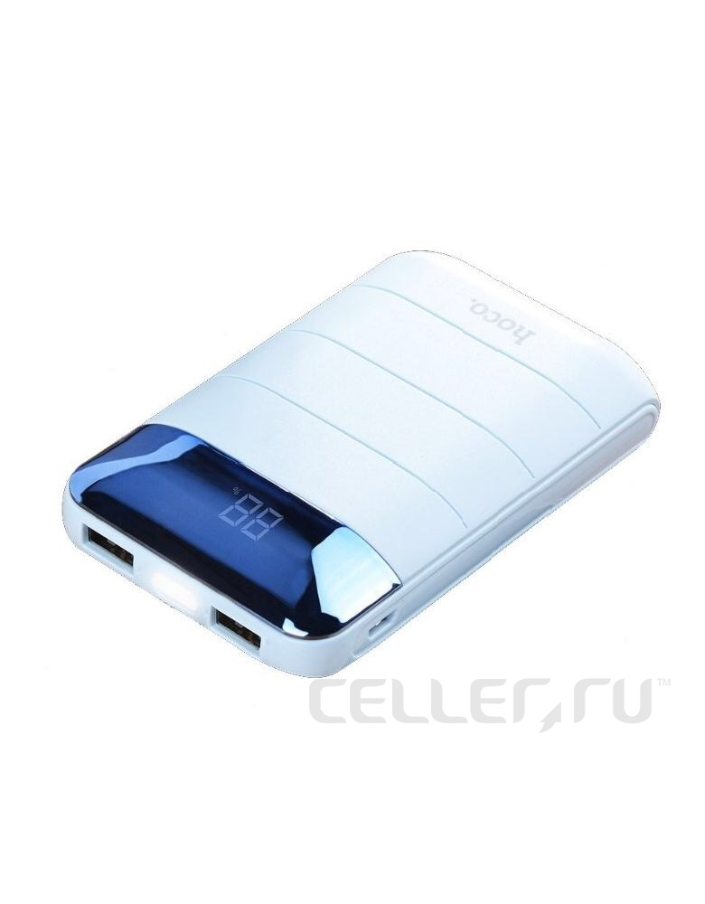 "Внешний аккумулятор B29-10000 mAh (Power bank) ""Hoco"" Domon, pink"