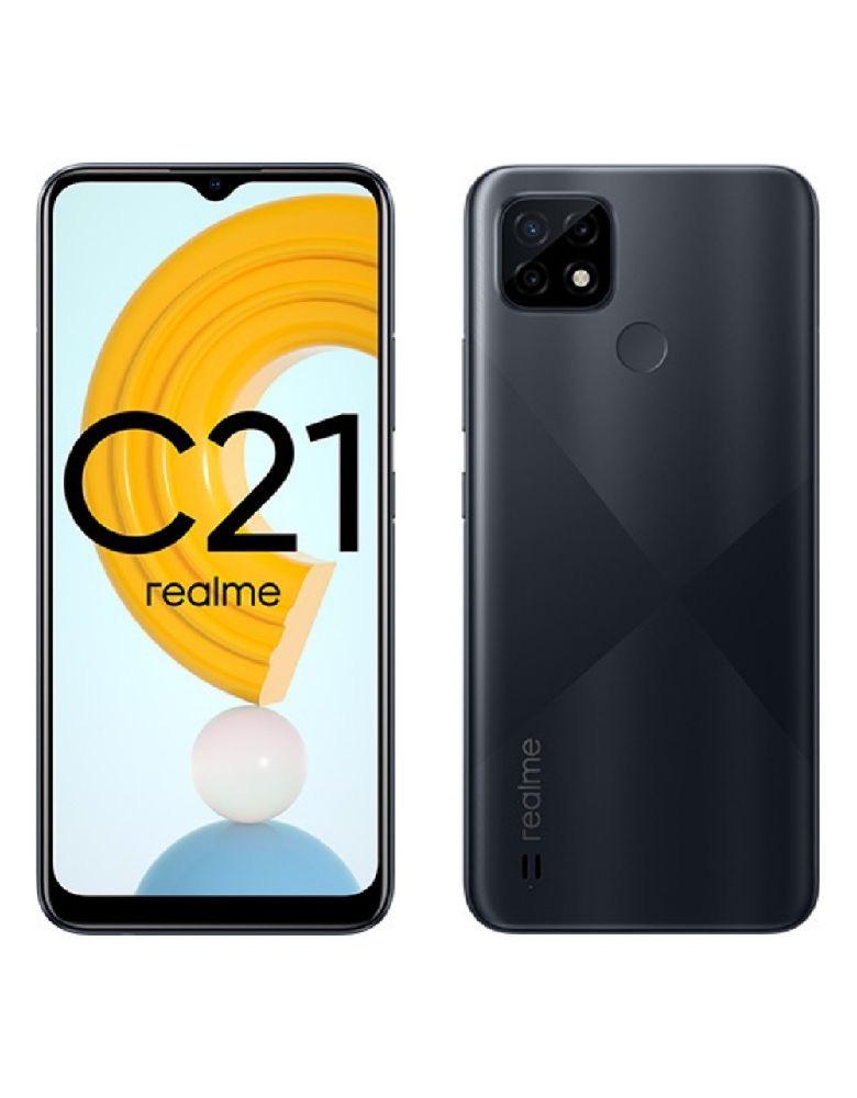 Смартфон Realme C21 3+32GB Cross Black