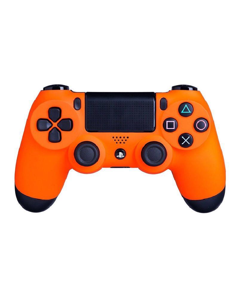 PlayStation DualShock 4 Orange Геймпад беспроводной(Аналог)