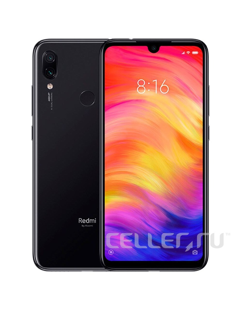 Xiaomi Redmi Note 7 6/64GB Black