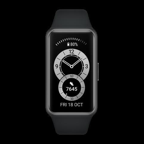 Умный браслет HUAWEI Band 6, графитовый черный