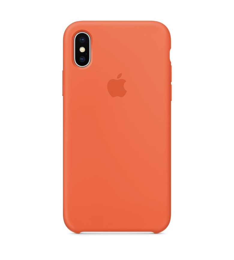 iPhone SE Silicone Case - Spicy Orange
