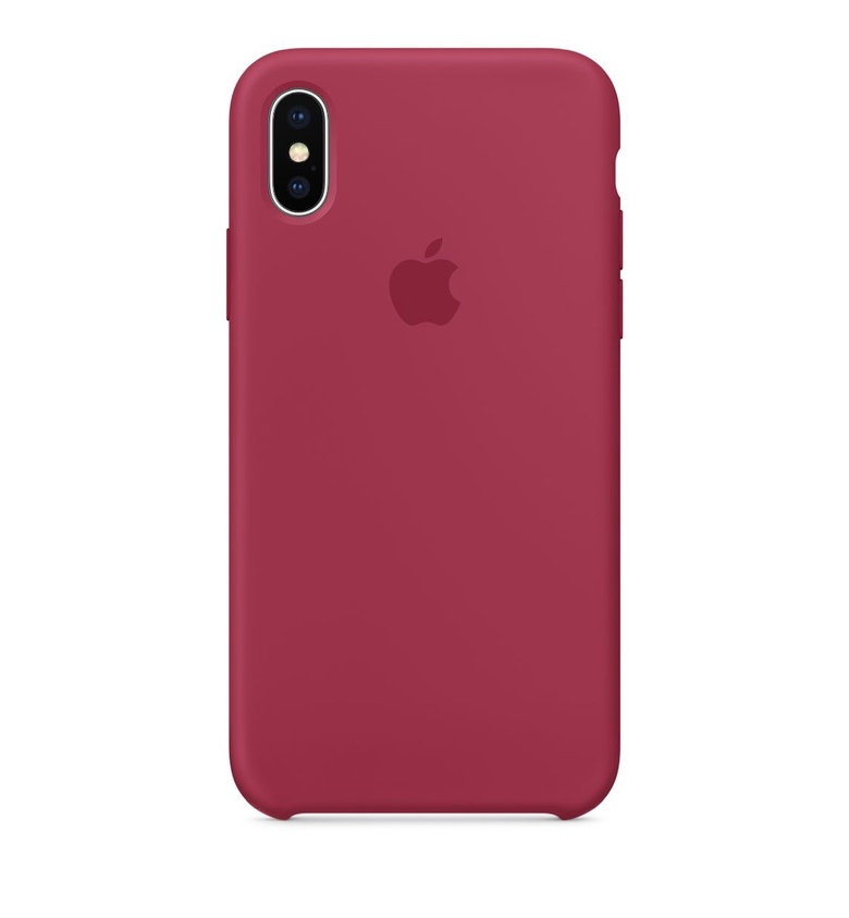 iPhone 7 Plus Silicone Case - Rose Red