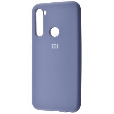 Чехол-бампер Xiaomi Silicone Cover для Xiaomi Redmi Note 7 Lavender Grey