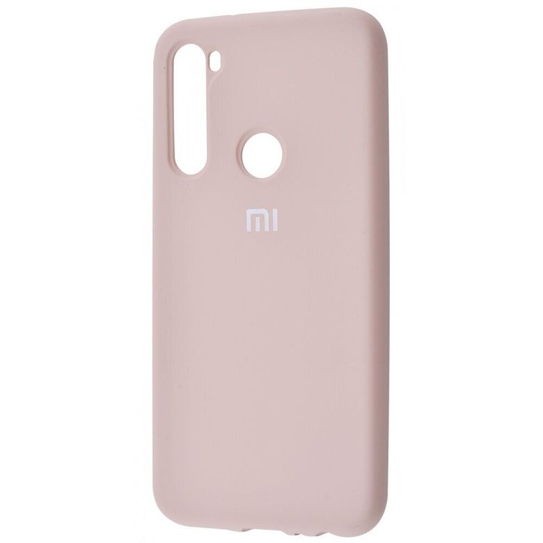 Чехол-бампер Xiaomi Silicone Cover для Xiaomi Redmi Note 7 Pink Sand
