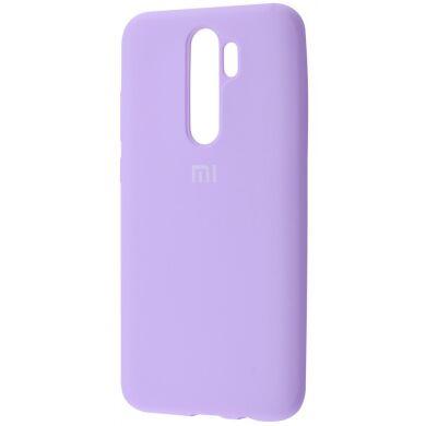 Чехол-бампер Xiaomi Silicone Cover для Xiaomi Redmi 8 Light Purple
