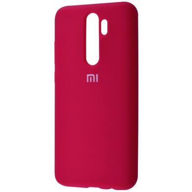 Чехол-бампер Xiaomi Silicone Cover для Xiaomi Redmi 8 Rose Red
