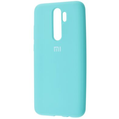 Чехол-бампер Xiaomi Silicone Cover для Xiaomi Redmi Note 8 Pro Turquoise