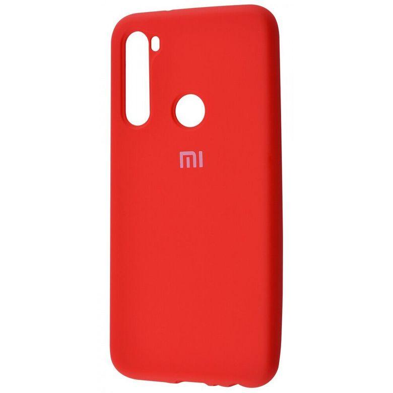 Чехол-бампер Xiaomi Silicone Cover для Xiaomi Redmi Note 7 Red