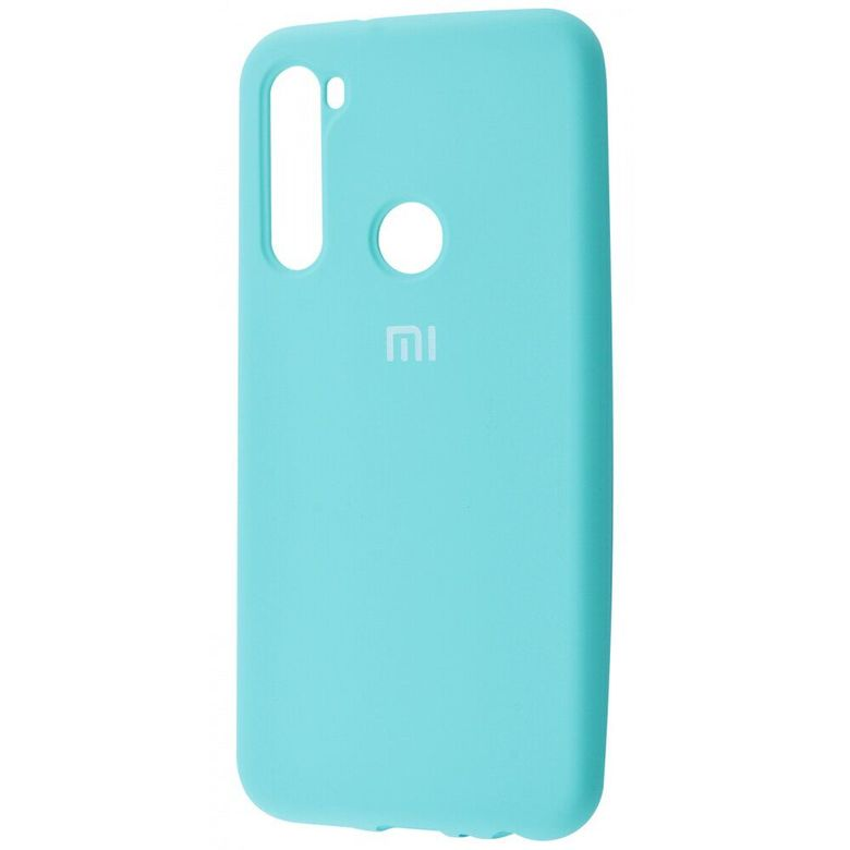Чехол-бампер Xiaomi Silicone Cover для Xiaomi Redmi Note 7 Turquoise