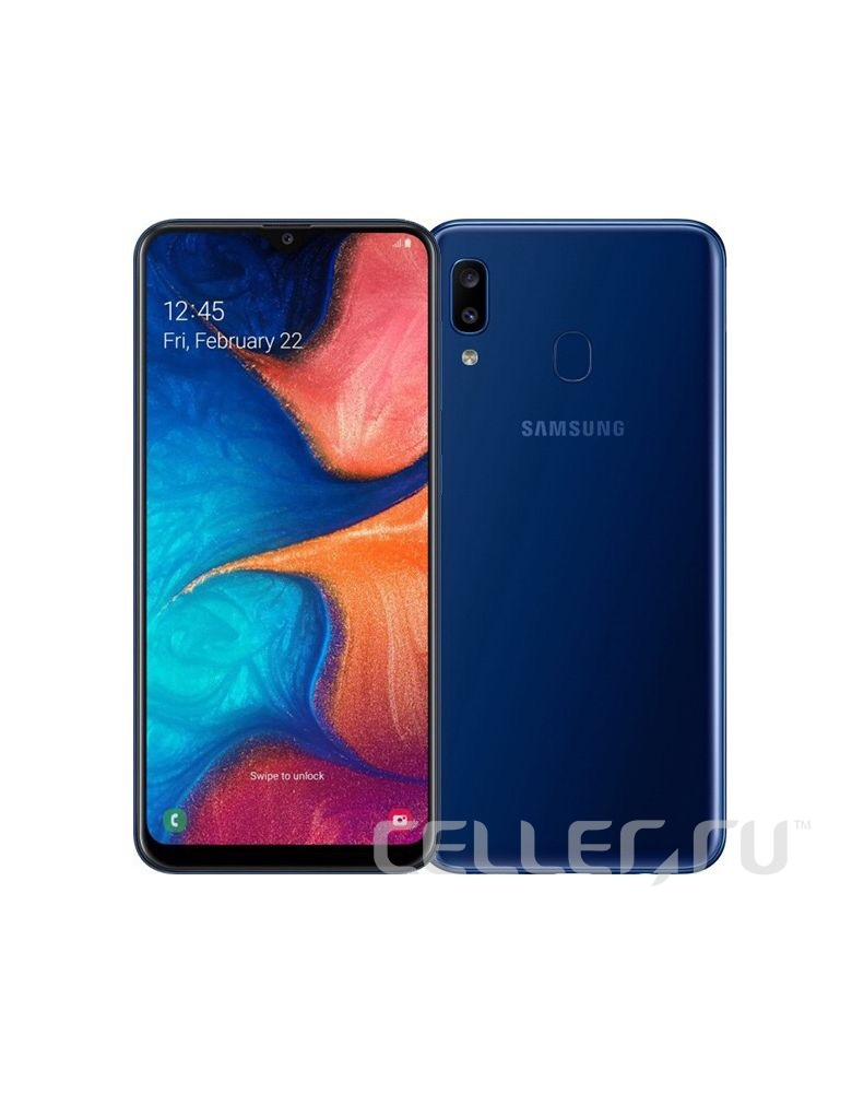 Samsung Galaxy A20 Blue 32Gb