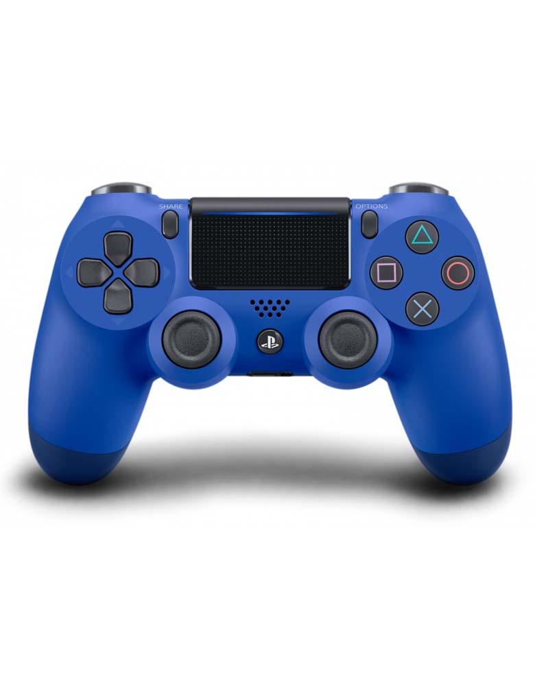 PlayStation DualShock 4 Blue Геймпад проводной(Аналог)