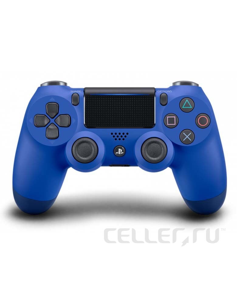 PlayStation DualShock 4 Blue Геймпад беспроводной(Аналог)