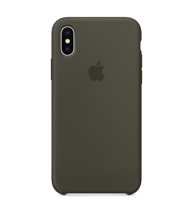 iPhone 6 Plus Silicone Case - Dark Olive