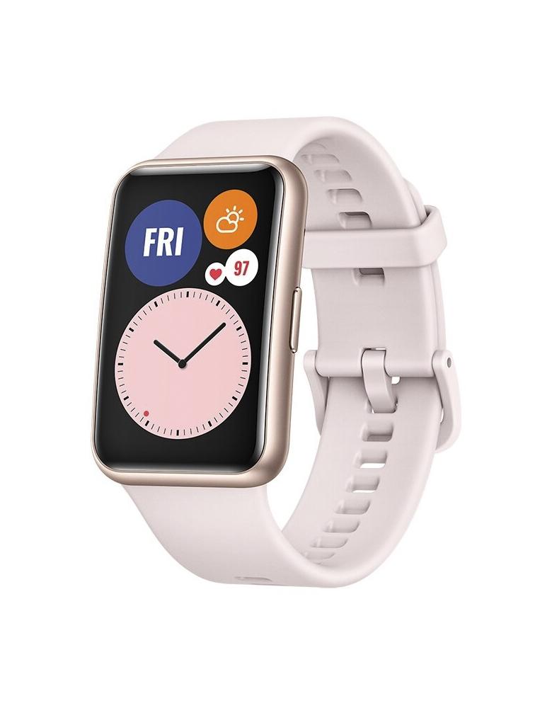 Умные часы HUAWEI Watch Fit розовая сакура