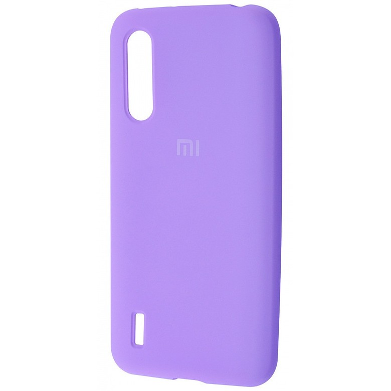 Чехол-бампер Xiaomi Silicone Cover для Xiaomi Redmi 7 Light Purple