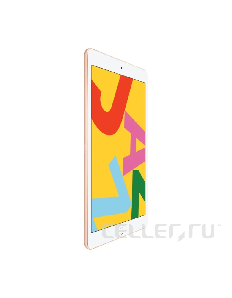 Планшет Apple iPad (2019) 32Gb Wi-Fi + Cellular Gold