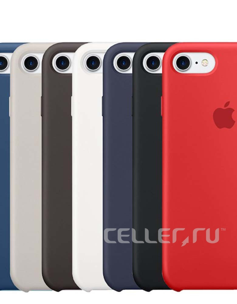 ЧЕХОЛ SILICON CASE IPHONE 7/8 В АСCОРТИМЕНТЕ