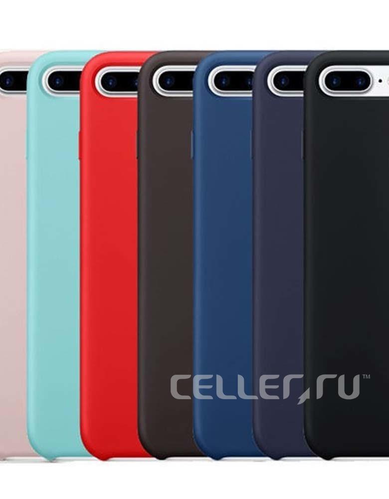 ЧЕХОЛ SILICON CASE IPHONE 7 Plus/8 Plus В АСCОРТИМЕНТЕ