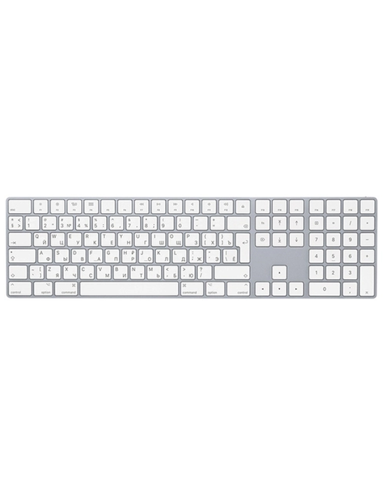 Клавиатура Apple Magic Keyboard with Numeric Keypad (MQ052RS/A) Silver Bluetooth
