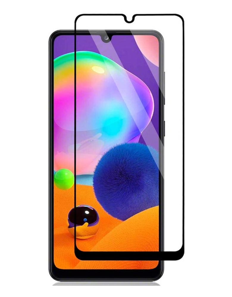 Защитное стекло для Samsung Galaxy M31 с полным покрытием