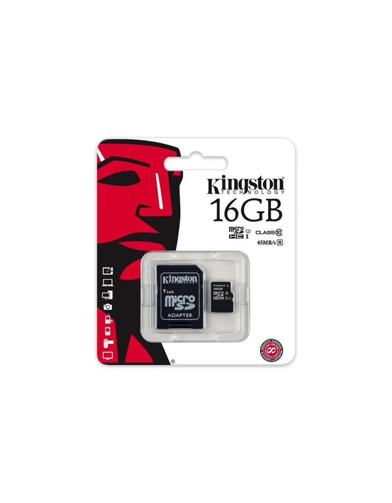 Kingston MicroSD HC class10 - 16GB