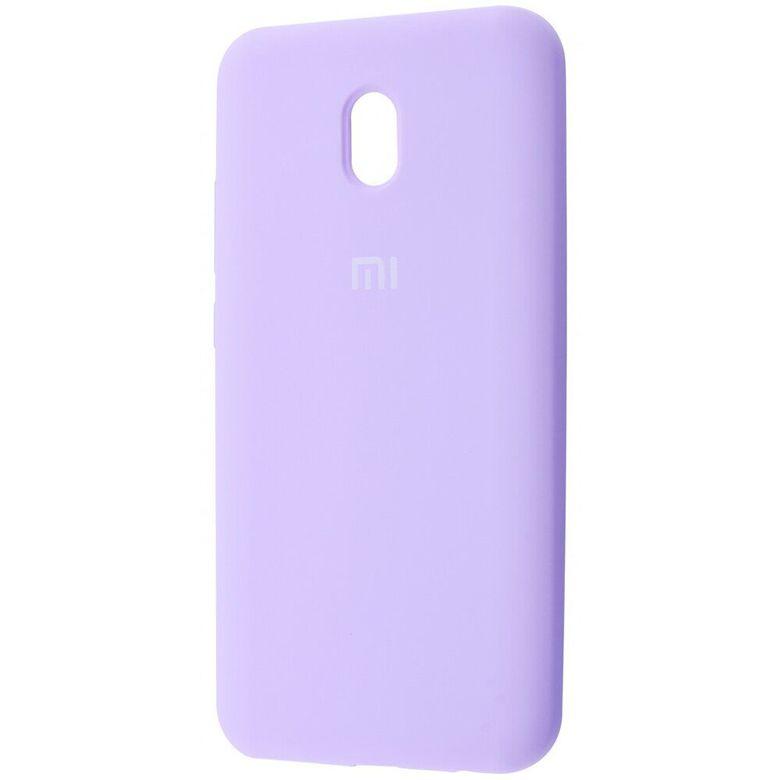 Чехол-бампер Xiaomi Silicone Cover для Xiaomi Redmi 8A Light Purple