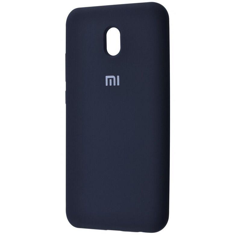 Чехол-бампер Xiaomi Silicone Cover для Xiaomi Redmi 7A Midnight Blue