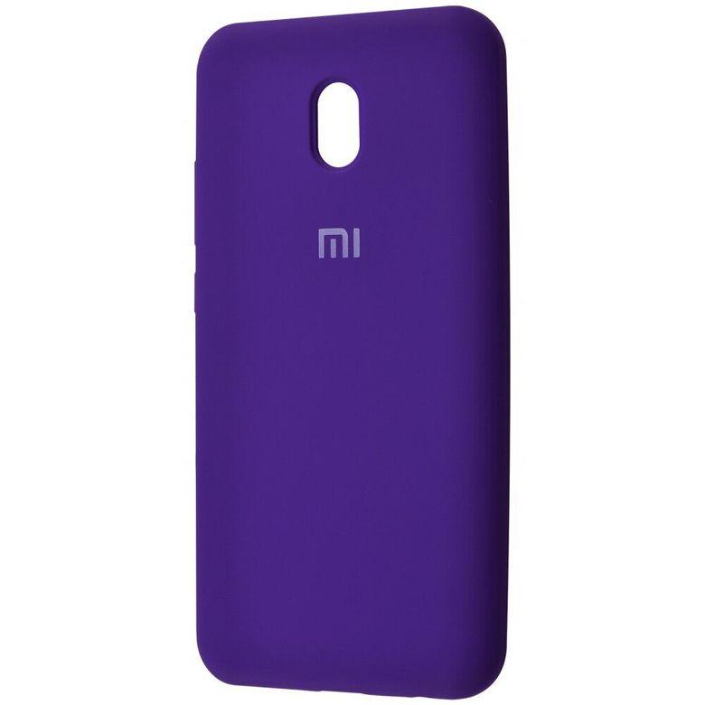 Чехол-бампер Xiaomi Silicone Cover для Xiaomi Redmi 7A  Pink Purple