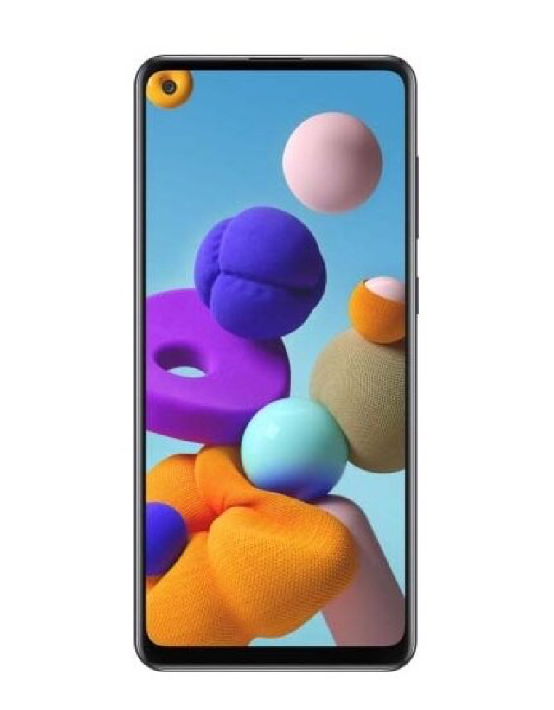 Смартфон Samsung Galaxy A21s 4/64GB черный