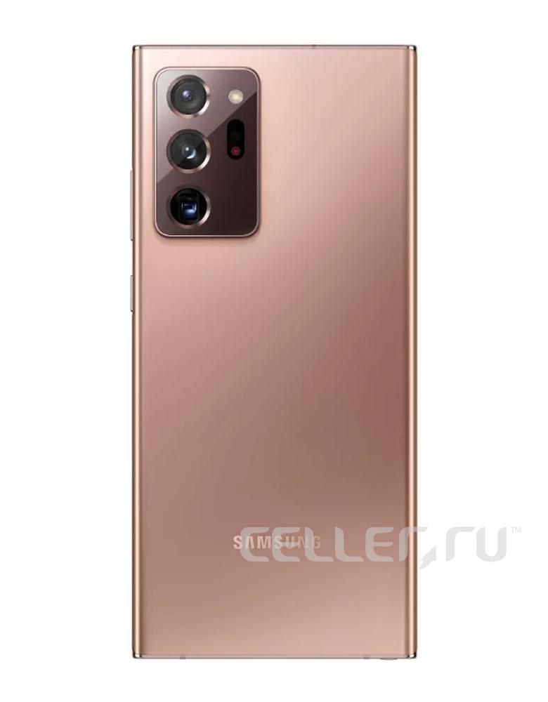 Смартфон Samsung Galaxy Note 20 Ultra 8/256GB Бронза