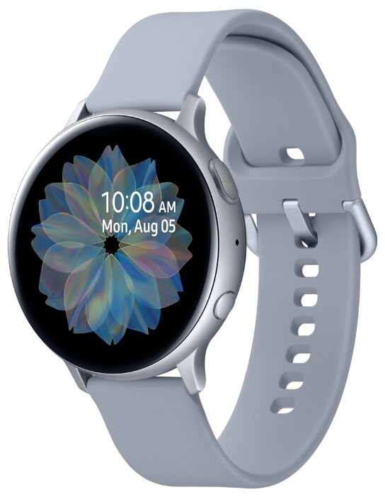 Часы Samsung Galaxy Watch Active2 алюминий 40 мм серебристые