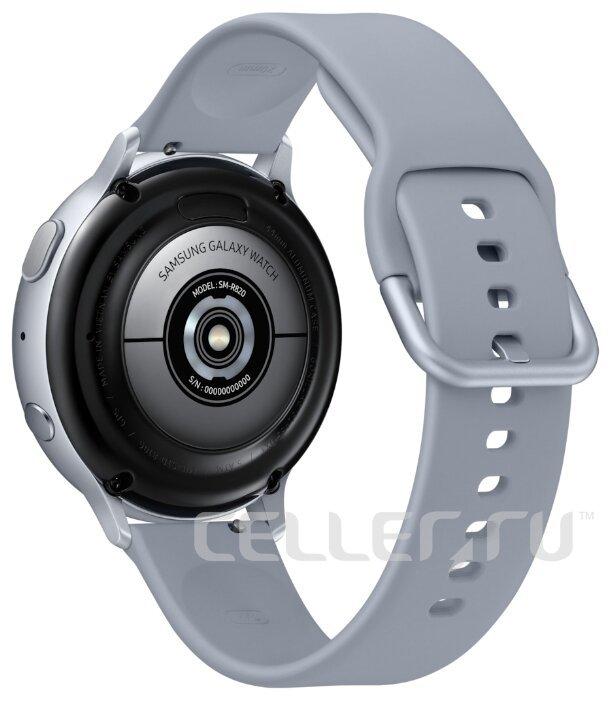 Часы Samsung Galaxy Watch Active2 алюминий 44 мм серебристые