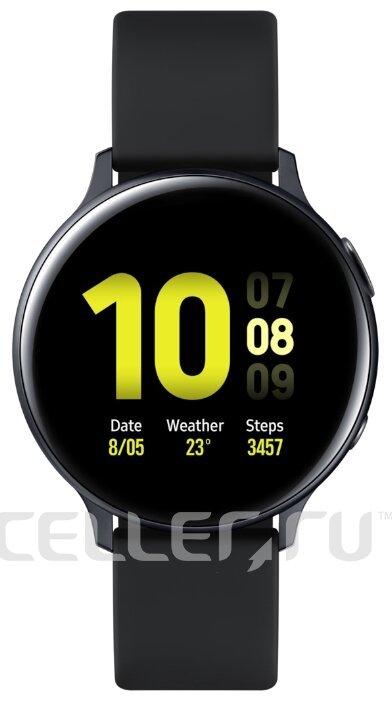 Часы Samsung Galaxy Watch Active2 алюминий 44 мм черные