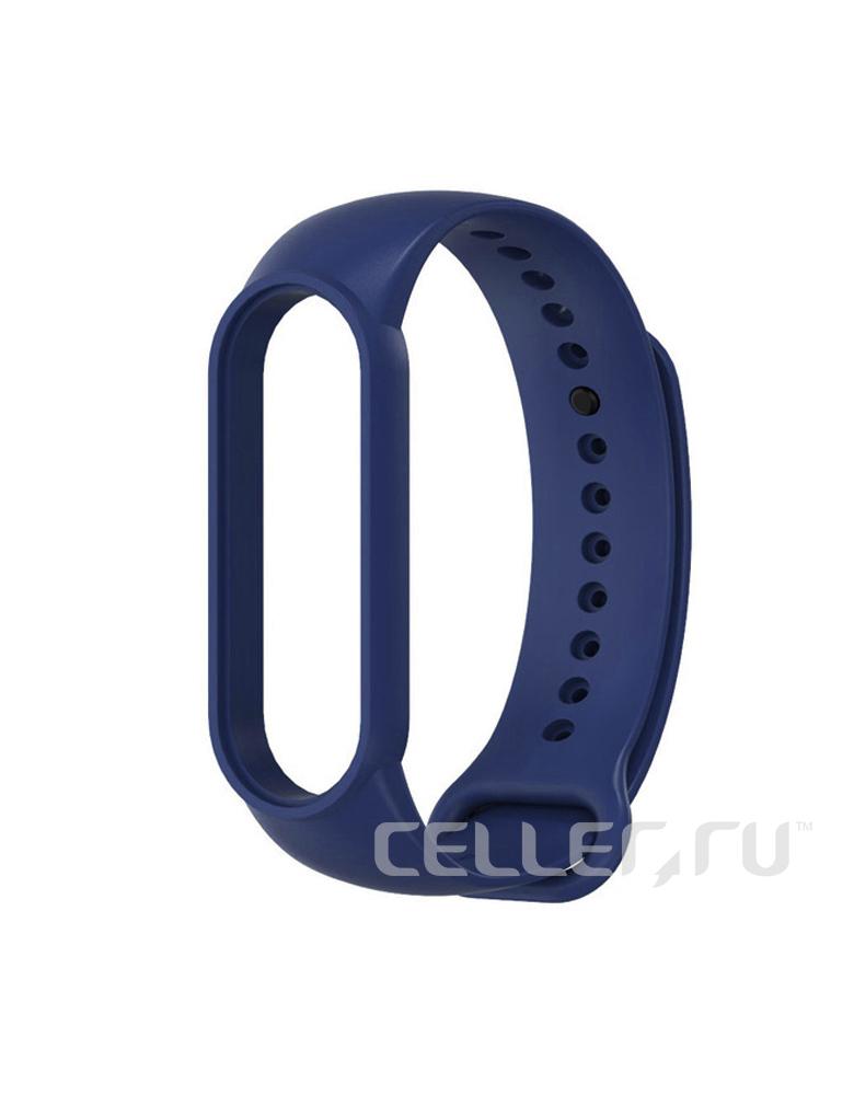 Ремешок для Xiaomi Mi Band 5 темно-синий