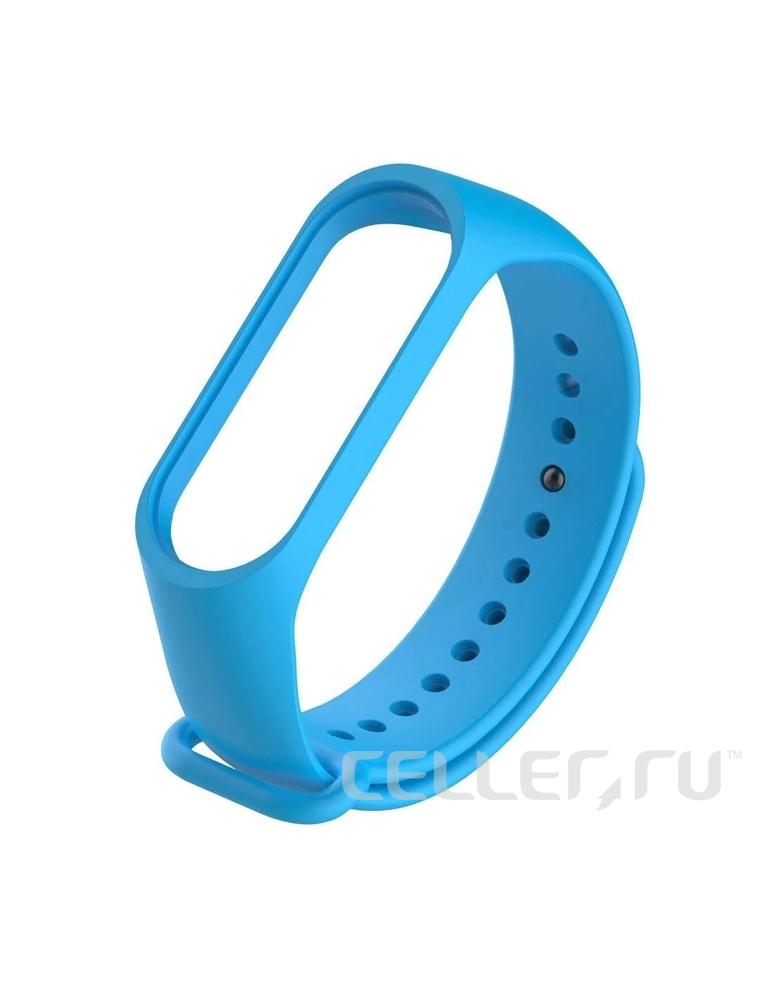 Ремешок для Xiaomi Mi Band 5 голубой