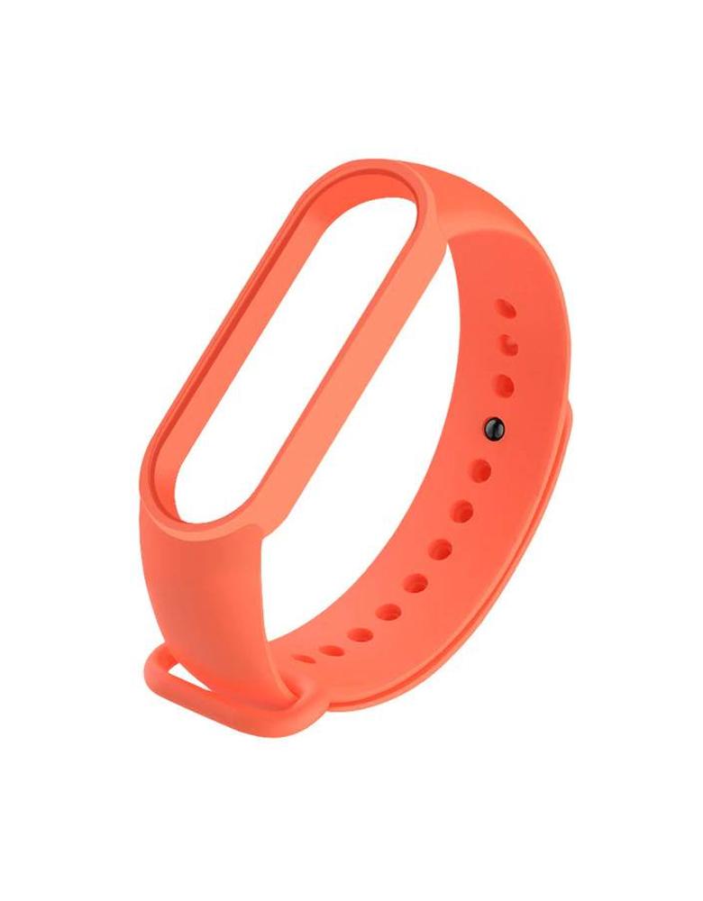 Ремешок для Xiaomi Mi Band 5 оранжевый