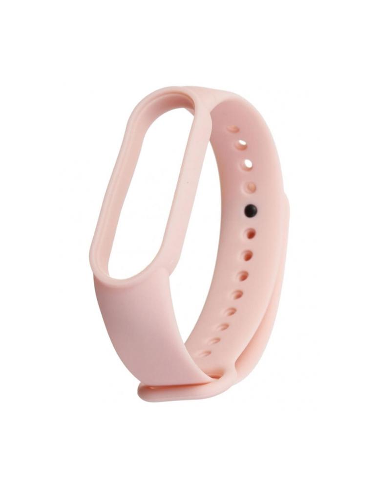 Ремешок для Xiaomi Mi Band 5 светло-розовый