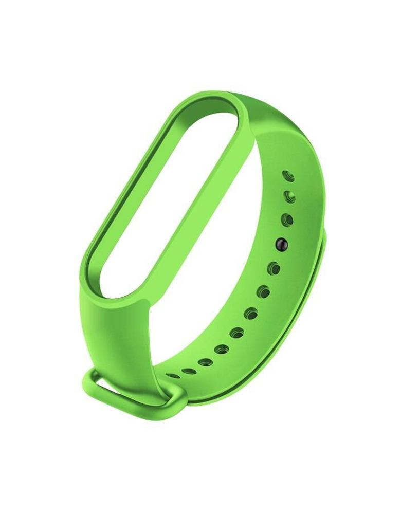 Ремешок для Xiaomi Mi Band 5 зеленый