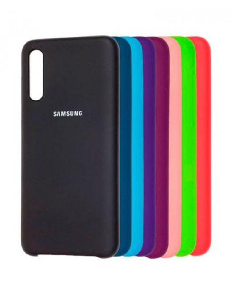 Чехол Silicone Cover для Samsung Galaxy A30s/A50/A50s в ассортименте