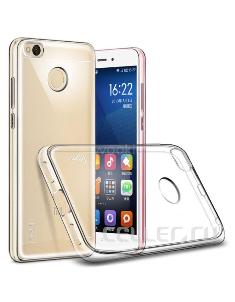 Чехол Xiaomi Redmi 4A Прозрачный Силиконовый